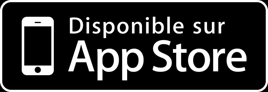 Disponible sur Apple Store