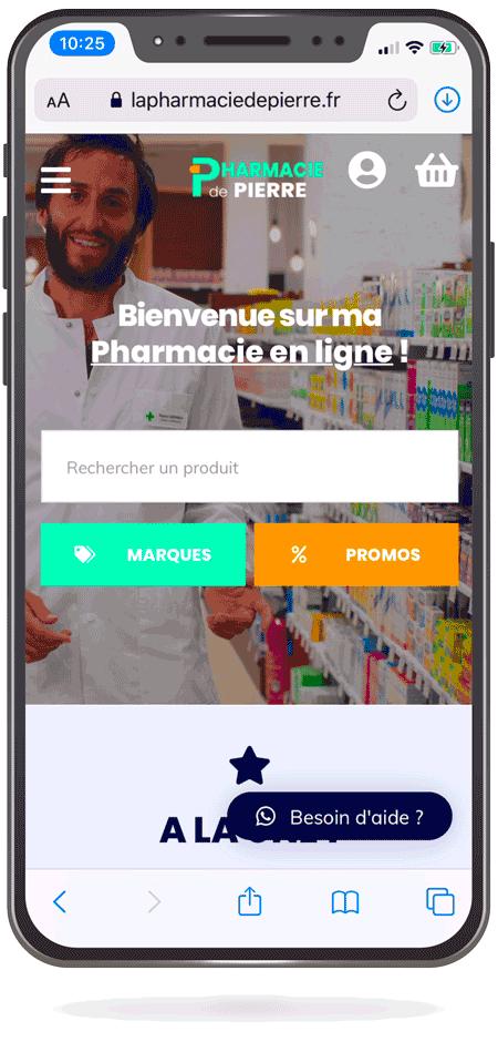 La Pharmacie en ligne de Pierre